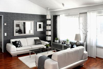 Nowoczesne i klasyczne wn trza dom w urz dzanie domu - Decoration salon moderne gris ...